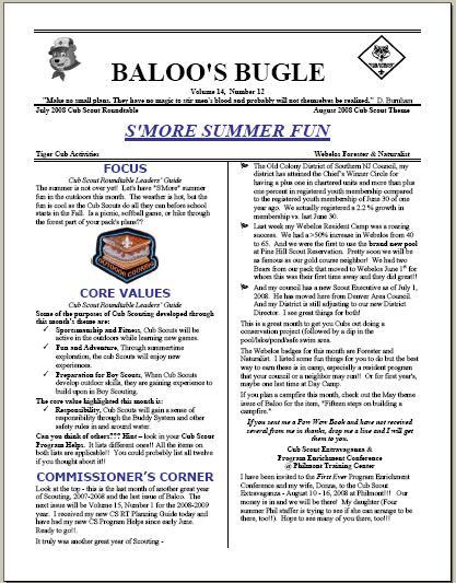 Cub Scout Belt Loop Worksheets - Synhoff