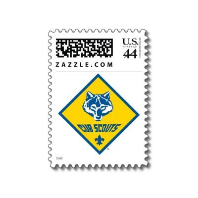 boy scouts symbol. Cub Scout Logo Stamps